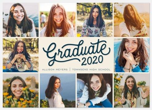 Snapshot Border Graduation Cards