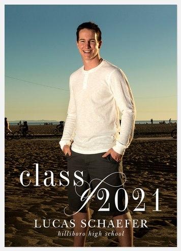 Graceful Class Graduation Cards