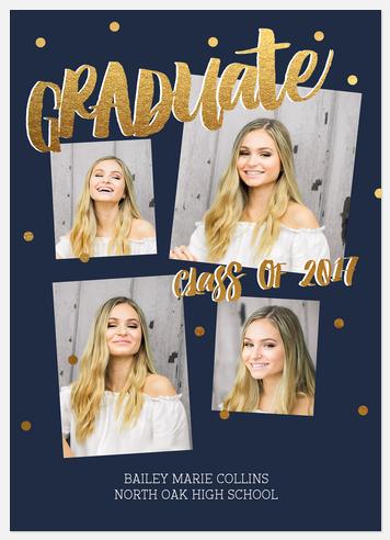 Confetti Graduate