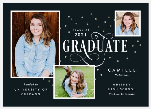 Jubilant Graduate Graduation Cards