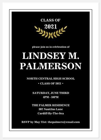 Classic Laurel Year Graduation Cards