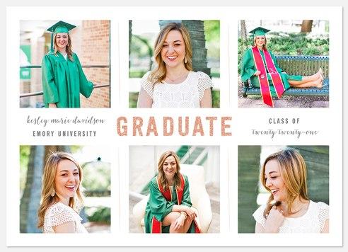 Glimmering Graduate Graduation Cards