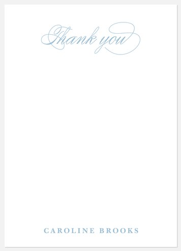 Chic Scholar Thank You Cards