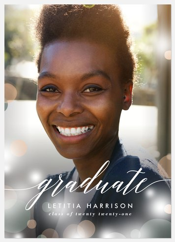 Glowing Graduate Graduation Cards
