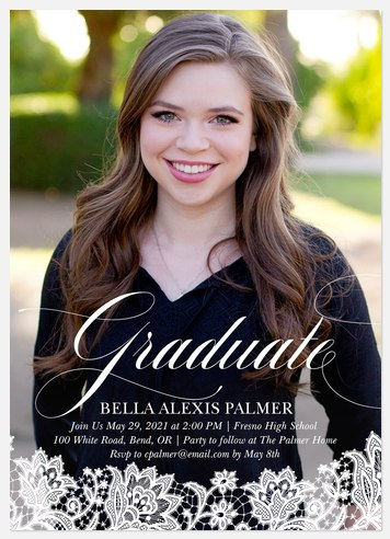 Delicately Charmed Graduation Cards