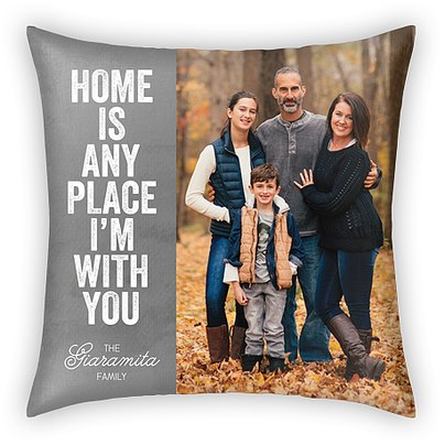 I'm With You Custom Pillows
