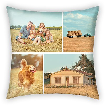 Side-by-Side Moments Custom Pillows