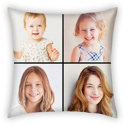 Traditional Grid Custom Pillows