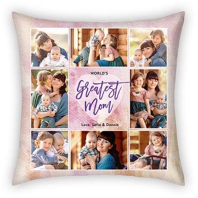 A Mother's Heart Custom Pillows