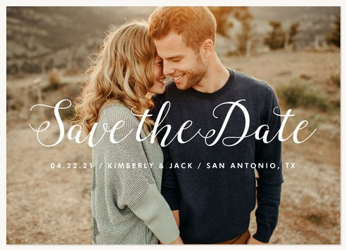 Meant To Be Save the Date Cards