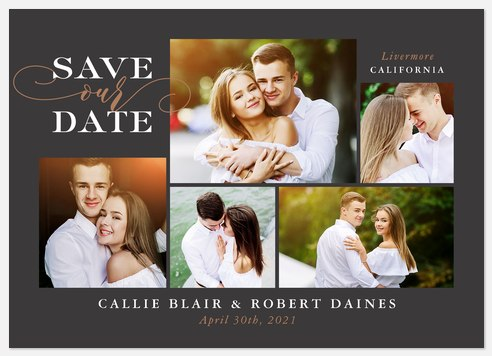 Moments Like These Save the Date Photo Cards