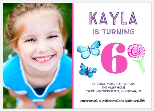 Stay Sweet  Kids' Birthday Invitations