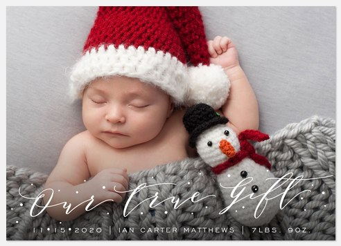 Our True Gift Holiday Photo Cards