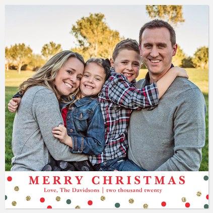 Festive Spirit Holiday Photo Cards