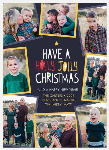 Jolly Snaps Holiday Photo Cards
