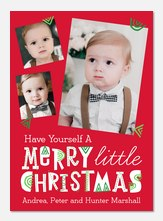 Little Christmas Doodles -  Baby Holiday Cards