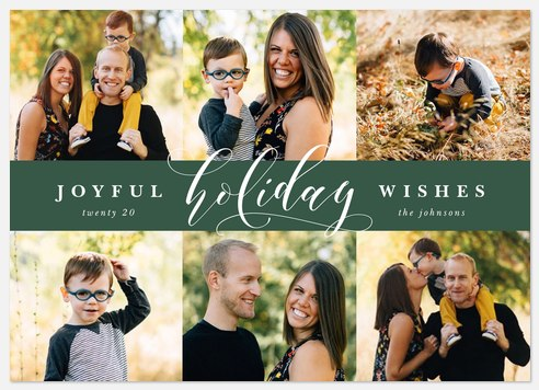 Greeting Gallery Holiday Photo Cards