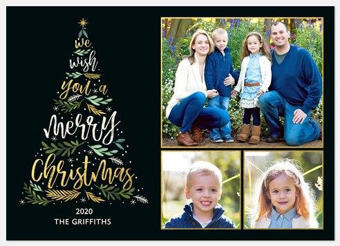 Tree Tidings Holiday Photo Cards