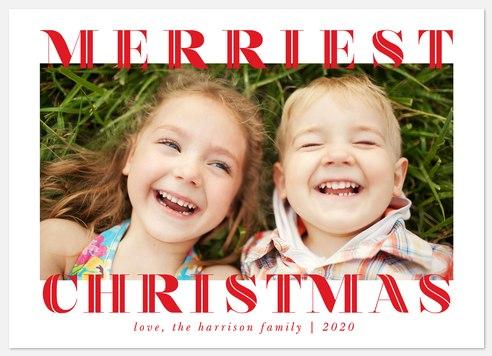 Happy Borders Holiday Photo Cards