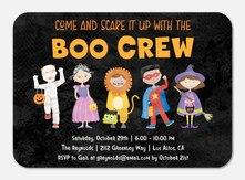 Boo Crew - Halloween Invitations