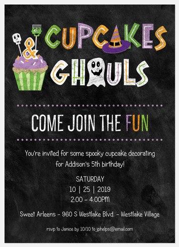 Cupcake Ghouls