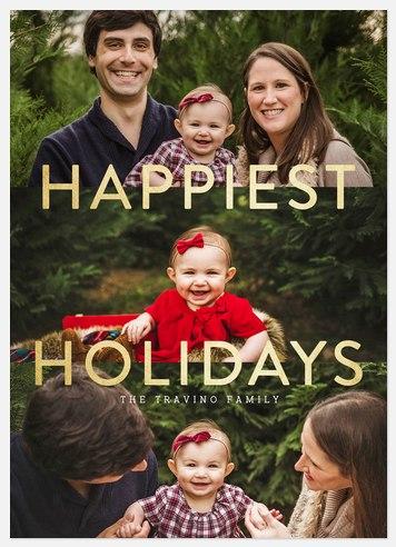Holiday Radiance Holiday Photo Cards