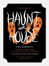 Ghoulish Haunt - Halloween Invitations