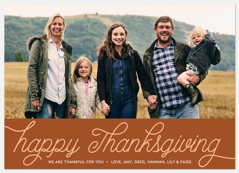 Cheerful Giving Thanksgiving Cards