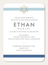 Bar Mitzvah Invitations Simply To Impress