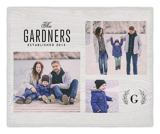 Wood & Laurels Custom Blankets