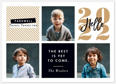 Yet To Come Holiday Photo Cards