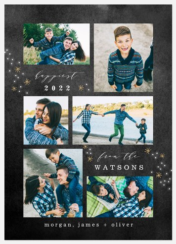 Starry Gallery Holiday Photo Cards