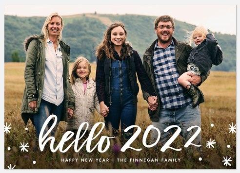 Happy Hello Holiday Photo Cards
