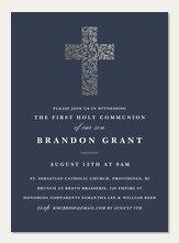 First Communion Invitations Simplytoimpress