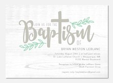 Boy Baptism Invitations PhotoAffections