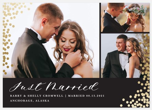 Enchanted Wedding Announcements