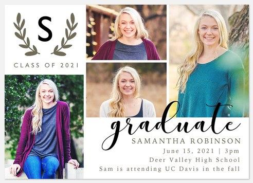 Classic Laurel Graduation Cards