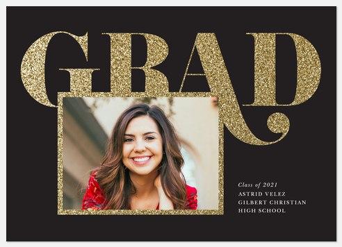 Grand Glitter Graduation Cards