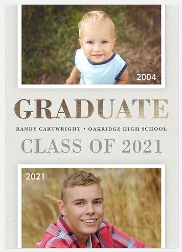 Classic Frames Graduation Cards