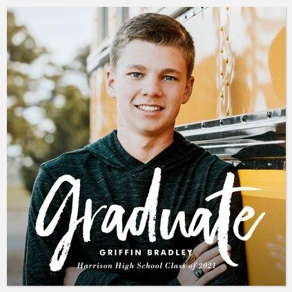 Brushed Graduate Graduation Cards