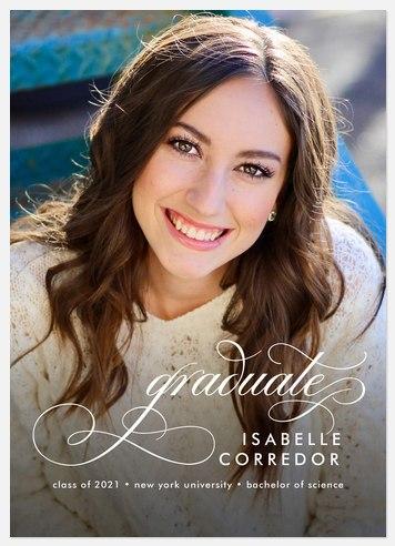 Elegant Flair Graduation Cards