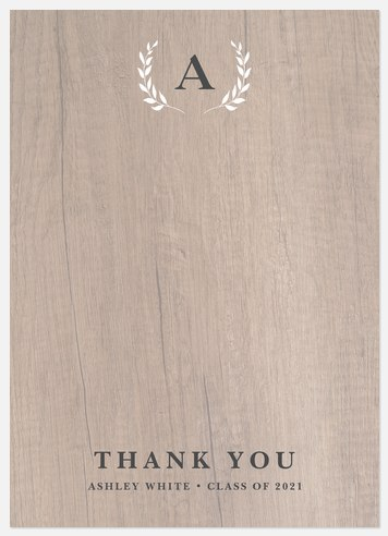 Farmhouse Laurels Thank You Cards