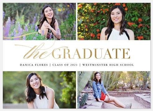 Bright Flourish Graduation Cards