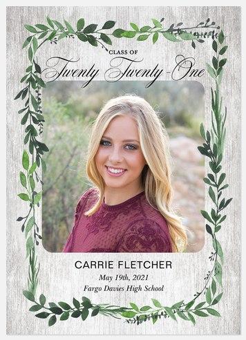 Laurel Leaves Graduation Cards