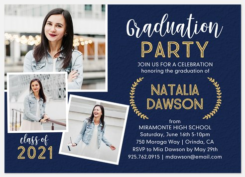 Whimsical Party Graduation Cards