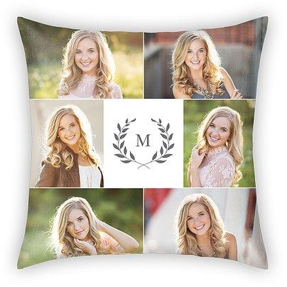 Classic Monogram Custom Pillows