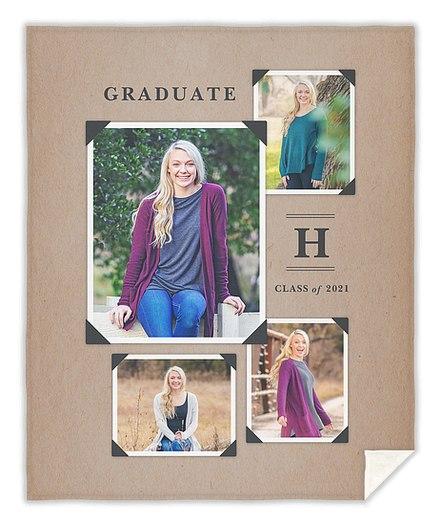 Vintage Yearbook Custom Blankets