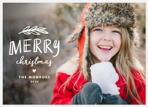 Merry Whimsy Holiday Photo Cards
