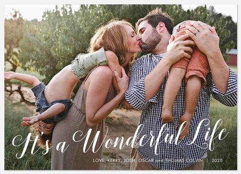 So Very Wonderful Holiday Photo Cards