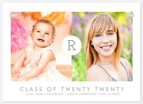 Chic Timeline Graduation Cards